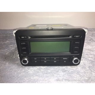 VW Golf 5 Passat Caddy Touran Autoradio CD Player Radio guter Zustand 1K0035186P #GI9000-SB