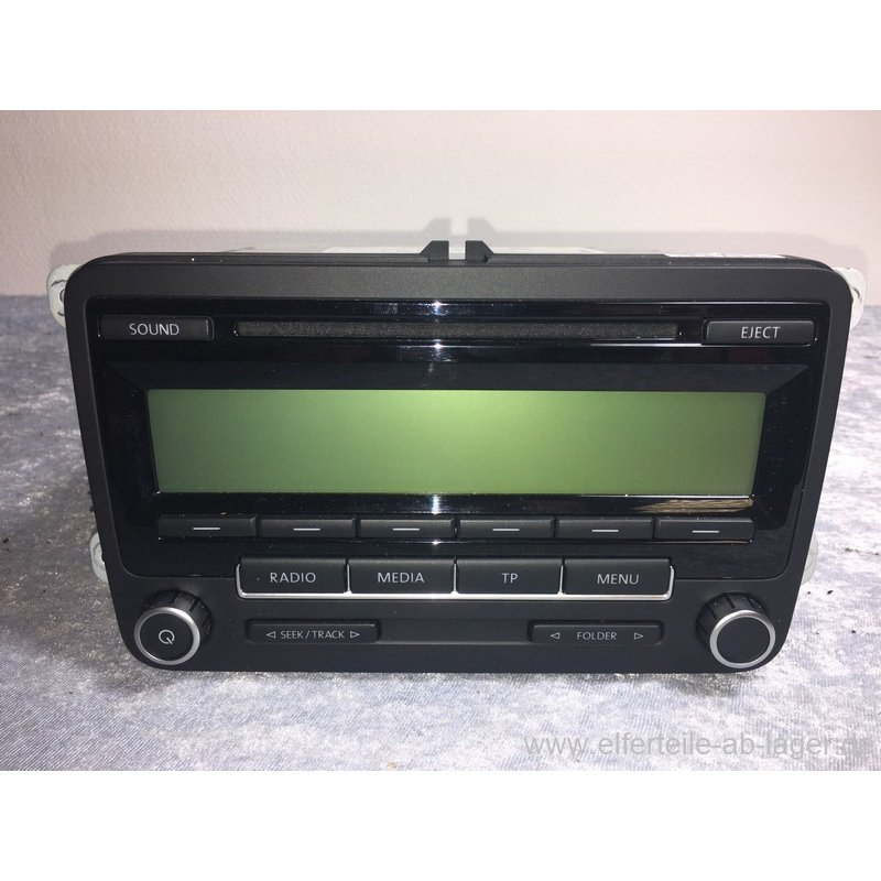 vw golf 6 passat caddy touran autoradio cd player radio. Black Bedroom Furniture Sets. Home Design Ideas